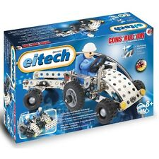Tractor With Trailer Eitech C81 Metal Building Construction Toy Steel Model Kit