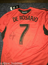 DC United Dwayne De Rosario Signed Autographed MLS Soccer Authentic Jersey COA