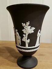 VINTAGE NERO WEDGWOOD Jasperware Arcadian vaso.