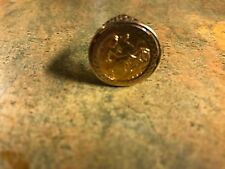 Vintage 22ct Gold 1908 Edward VII Half Sovereign in 9ct Gold Ring