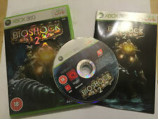 XBOX 360 GAME BIOSHOCK 2 / II + BOX & INSTRUCTIONS / COMPLETE PAL GWO
