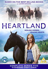 HEARTLAND - THE COMPLETE FIFTH SEASON - DVD - REGION 2 UK