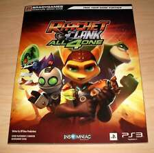 Ratchet & Clank All 4 One - Bradygames Signature Series Guide ( and four )