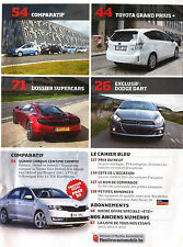 Le moniteur Automobile 8/08/2012; Dossier Supercars/ Fiat 500 L/ Toyota Grand Pr