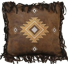 Old West Diamond Pillow - Western Geometric - Free Shipping