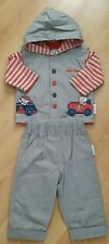 NURSERY TIME BABY BOYS shirt Trousers gilet SET of 3 pieces. Size 6 -12 months.