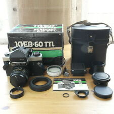 KIEV-60 TTL 6x6 Medium Format SLR camera Volna-3 MC 80mm f2.8 lens MINT Pentacon