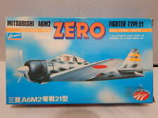 Vintage Crown Misubishi A6M2 ZERO Fighter Type-21 ~ 1/144 ~ Sealed Contents