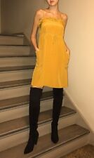 MARC BY MARC JACOBS NWT $298 Titian Gold Yellow Blouson Dress Size 2