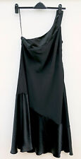 PLANET black evening dress, fully lined, size 14,  £20.00