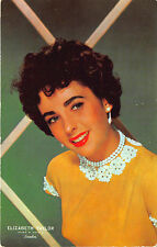 """Official Elizabeth Taylor Advertising MGM's """"Ivanhoe"""" Movie Postcard"""