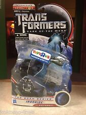 Transformers Dark of the Moon TRU MISSION EARTH Scan Series Figure MOC IRONHIDE