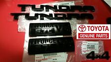 Toyota Genuine OEM TRD PRO Black Emblem 5-Piece Kit Tundra 2014 2015 2016 2017