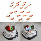 12/24/60pcs Baby Shower Party Plastic Born Game Cake Tableware Decoration Hot
