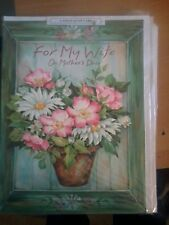 LARGE GREETINGS CARD FOR MY WIFE ON MOTHER'S DAY