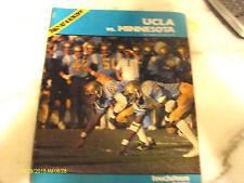 UCLA Bruins Vs Minnesota Golden Gophers September 1978 Football Program Book