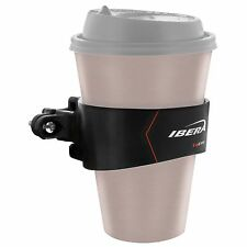 Ibera NEW Bike Cycling Drink Water Cup Holder Bicycle Handlebar Cage BLACK CB1