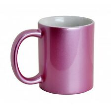 Brand New!!  Sparkle Pink Ceramic Sublimation Mugs
