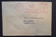 DDR Firmen Stempel - VEB Leuchtenbau Lengefeld VVB Elektrogeräte - Brief /S4