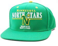 MINNESOTA NORTH STARS CCM VG86Z RETRO SNAPBACK NHL ADJUSTABLE HOCKEY CAP HAT