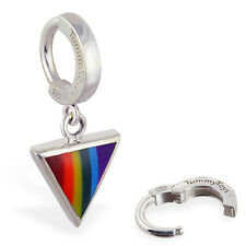 TummyToys Gay Pride Rainbow Belly Ring snap in sexy body jewelry