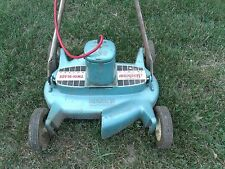 Sunbeam lawn mower RE-185 Electric Twin Blade 18 Inch Rotary Mower 1960 vintage