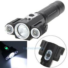 9000LM XM-L T6 3LED Headlamp 18650 Headlight Torch Flashlight 4 Modes Lamp 18650