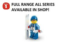Lego minifigures skier series 2 (8684) unopened new factory sealed