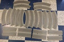 HUGE LOT of 24 Track Pieces 8 Straight 16 Curve O Scale LIONEL FASTRACK - NEW!