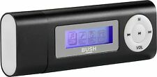 Bush 4GB MP3 Player With Led Display - Black, Stores up to 500 songs