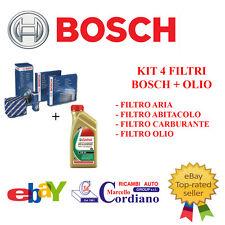 KIT FILTRI TAGLIANDO BOSCH MERCEDES CLASSE A 160 180 200 CDI + OLIO CASTROL