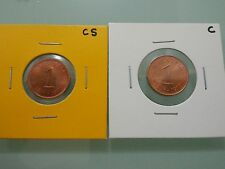 Willie: Malaysia 1 cent 1973 copper steal & copper (BU) condition