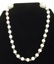 Jewels by Park Lane Pearl Necklace & Earring Set