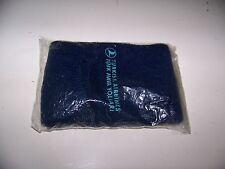Vintage Turkish Airlines Blue Socks / Slippers - TURK HAVA YOLLARI -