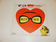 WALTER VALDI - W L'AMORE - LP 1974 CAROSELLO RECORDS MADE IN ITALY - VG++/VG++