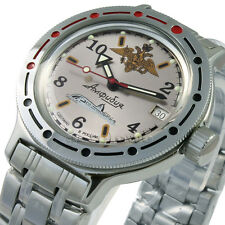 Russian  watch Amphibian VOSTOK  Mechanical Automatic Men's scuba dude  #420392