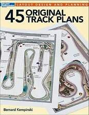 KALMBACH BOOK 45 ORIGINAL TRACK PLANS - LAYOUT DESIGN AND PLANNING