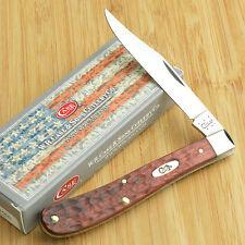 Case XX Jigged Rosewood Handle Slimline Trapper Pocket Knife 01055 71048 SS