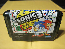 Sonic The Hedgehog 3 (Sega Mega Drive) Original Genesis Japan Import
