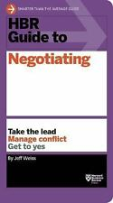 HBR Guide: HBR Guide to Negotiating (HBR Guide Series) by Jeff Weiss (2016,...