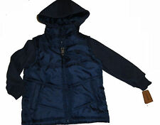 NEW TIMBERLAND JEANS PADDED JACKET BLUE/NAVY 3T /3 YEARS AUTHENTIC