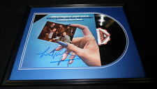 Itzhak Perlman Signed Framed A Different Kind of Blues Record Album Display