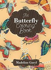 The Butterfly Adult Colouring Book Creative Butterflies Wings Spring Garden Joy