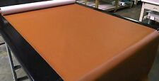 """5 YARDS SADDLE BROWN MARINE OUTDOOR AUTO FABRIC BOAT UPHOLSTERY 54""""W VINYL"""