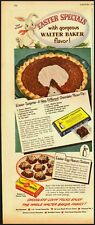 1950 Vintage ad for Baker's Chocolate/Easter Bunny/recipe (030713)