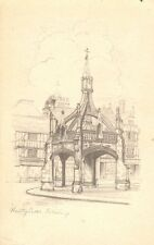 Wiltshire: Poultry Cross, Salisbury - Posted 1940