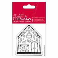 Do-Crafts Papermania Clear Stamps -  Gingerbread House for Cards or Crafts