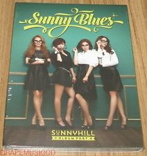 SUNNY HILL 1ST ALBUM Part A / Sunny Blues K-POP CD + POSTER IN TUBE CASE SEALED