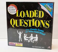 New Loaded Questions Board Game - The Classic Game of Who Said What  Made in USA