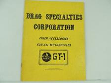 Vintage Early Drag Specialties Motorcycle Chopper Catalog Harley Triumph L2219